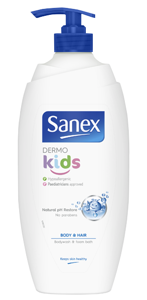 Sanex Dermo Kids and Bubble Bath Shower Gel